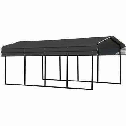 Arrow Carport Canopy Ft Steel Shelter Carports