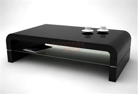 table basse noire pas cher