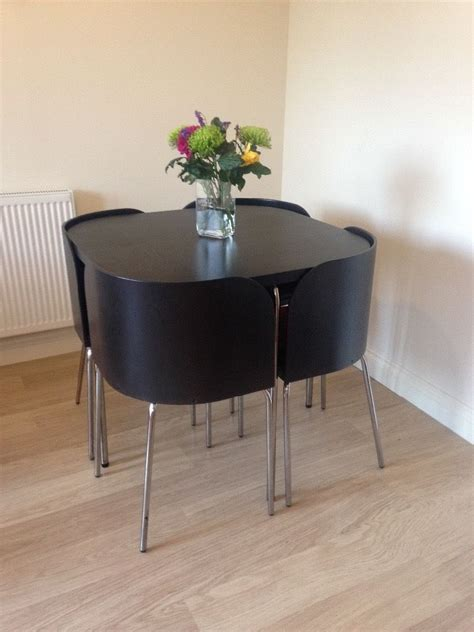 space saving table and chairs ikea dining table and four chairs neat space saving
