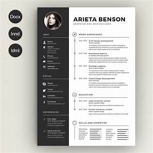 find the best photoshop resume template here With free photoshop resume templates