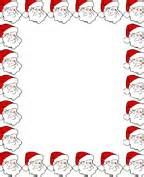 free printable christmas border paper stationary