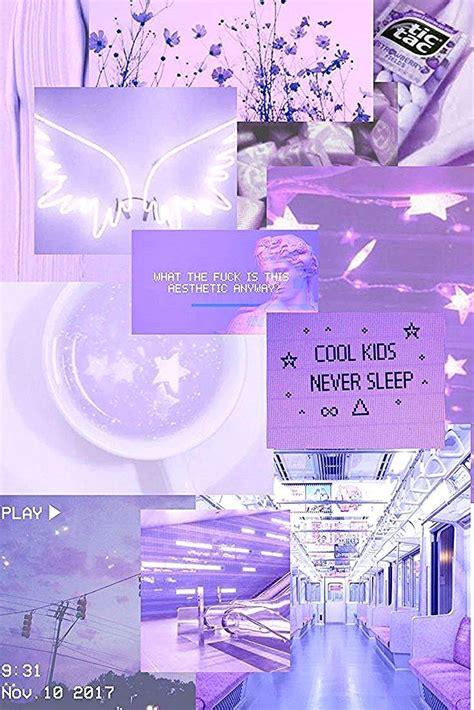 pin oleh indah  aesthetic purple   gambar awan