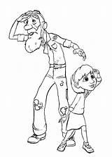 Coloring Prince Pages Le Petit Cartoon Teletubbies Princ sketch template