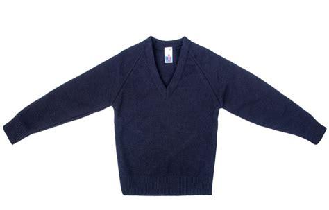 vneck v blue school sweater sweater