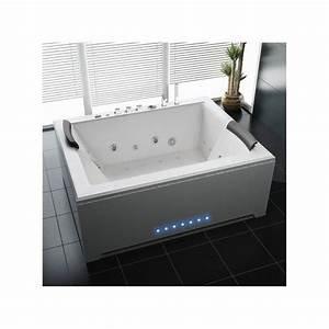 Baignoire Balneo 2 Personnes : baignoire baln o 2 personnes hypnose 6 180 140 68 cm ~ Dailycaller-alerts.com Idées de Décoration