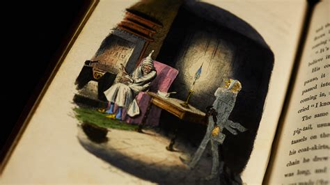 ghosts   christmas carol  british library