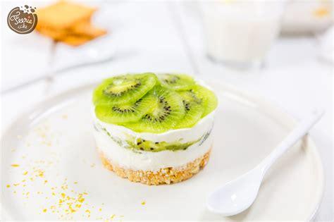 la recette facile du cheesecake sans cuisson au kiwi
