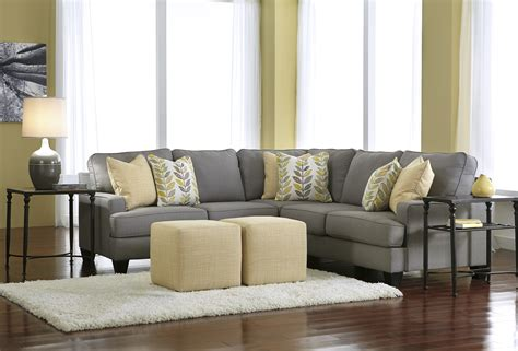 sectional living room sets buy chamberly alloy sectional living room set by