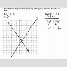 Solving A System Of Equations 1