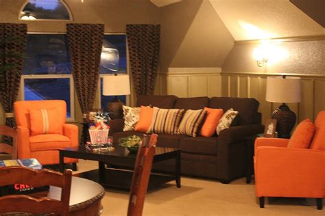 brown and orange living room ideas living room decorating ideas brown and orange online information