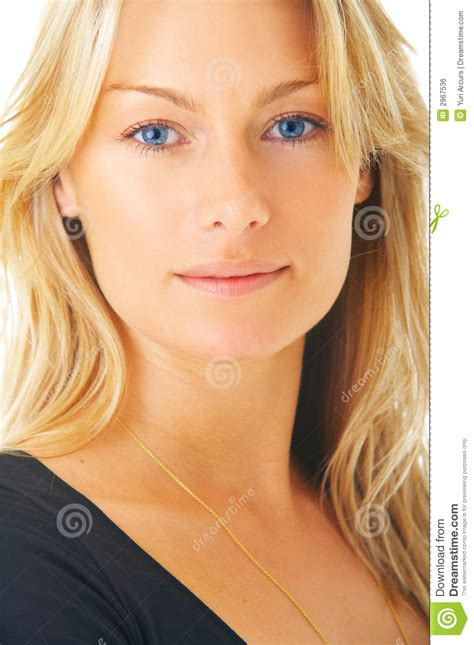 Haired Blue Eyed by Blond Hair And Blue Stock Photo Image Of Gorgeous