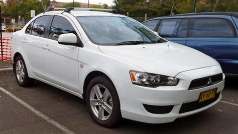 Mitsubishi Lancer 2010 Review by Used Mitsubishi Lancer Review 2007 2010 Carsguide