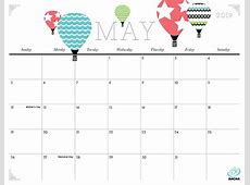 Cute and Crafty 2019 Calendar iMom