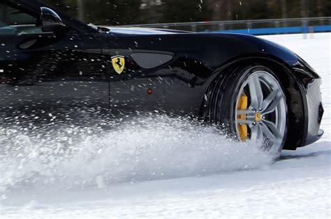 maserati snow ferrari snow test for ffs modenacars en