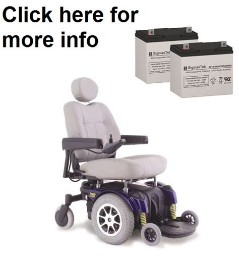 Jazzy Power Chair Battery Replacement by Pride Mobility Jazzy 1121 Power Wheelchair Battery Sp12 55