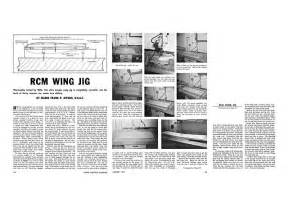 Rcm Wing Jig Plans Download - Rcmplans Ref 9048