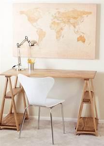 Luminaire Fait Maison : fabriquer un bureau soi m me 22 id es inspirantes ~ Melissatoandfro.com Idées de Décoration