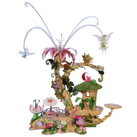 Pixie Hollow Home Tree Play Set Toys Games Dolls