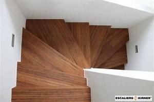 Habillage Escalier Interieur : remise neuf d 39 un escalier en bois rouge de 81 ~ Premium-room.com Idées de Décoration