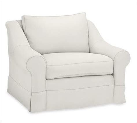 Armchair Cushion Covers by Slipcovered Armchair Blend Wrap Box Cushions