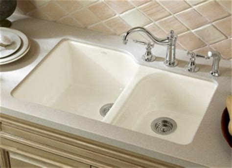composite undermount kitchen sinks kohler k 5931 4u 96 executive chef cast iron bowl 5666