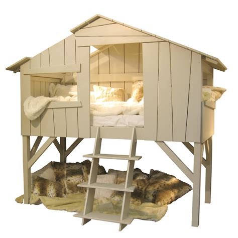images de chambre treehouse single cabin bed in artichoke cuckooland