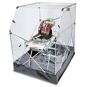 mk tile saw tent enclosure 169658 constructioncomplete