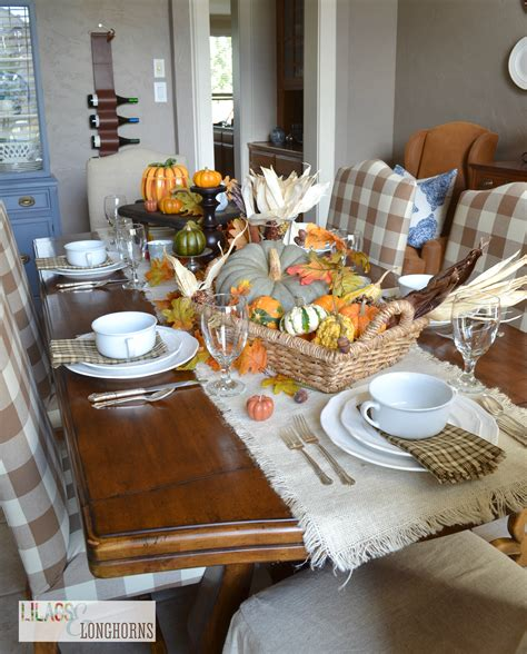 Pottery Barn Inspired by Creating A Pottery Barn Inspired Fall Tablescape Lilacs