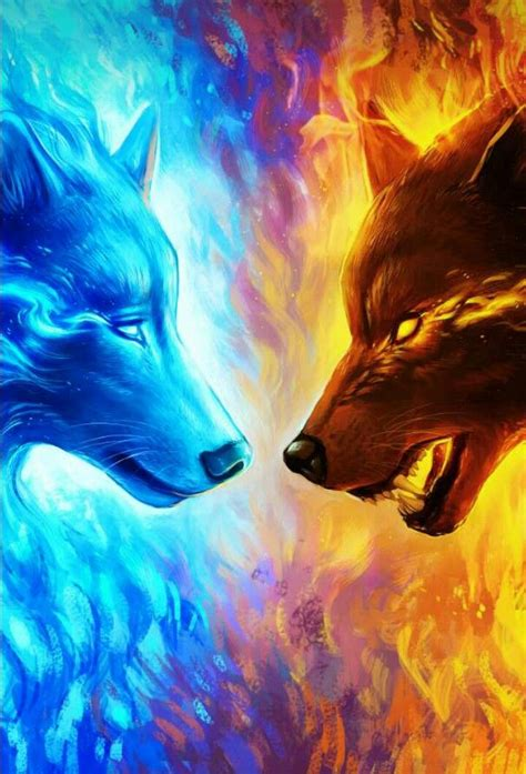 Beautiful Anime Wolf Wallpaper by Wallpapers Wallpapers In 2019