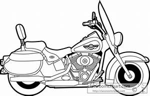 motorcycle outline clipart clipart suggest With motorcycle engine