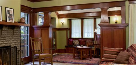 craftsman homes interiors interiors craftsman design renovation