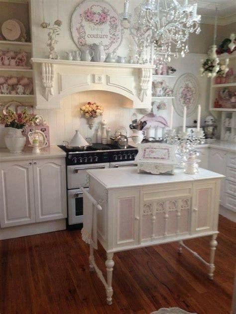shabby chic kitchens images  pinterest