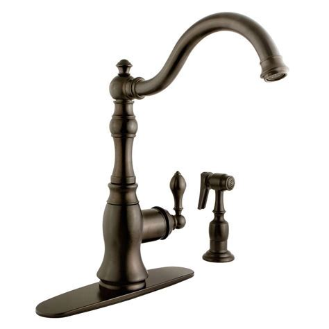 Kingston Brass Victorian Single Handle Standard Kitchen