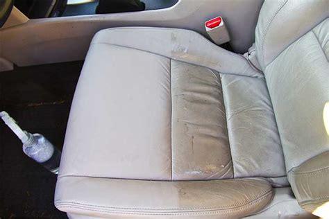 comment nettoyer siege en cuir de voiture voitures