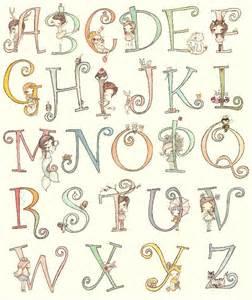 Cute Animal Alphabet Letters