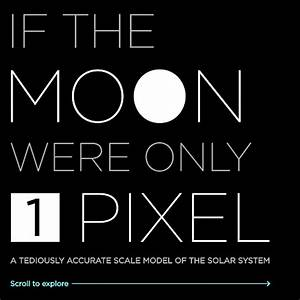 If the Moon Were Only 1 Pixel - A tediously accurate map ...