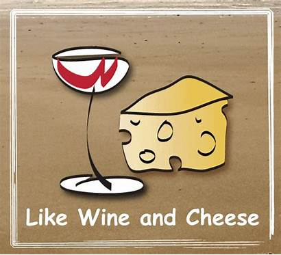 Wine Together Cheese Miss Them Let Card