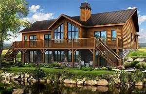 Log Home Floor Plans Log Homes By Timber Block Fabulous