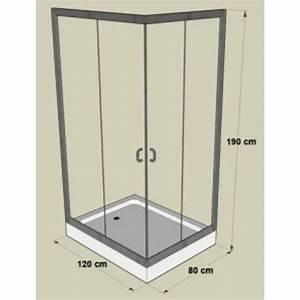 Bodengleiche Duschwanne 120 : duschkabine mit duschwanne 120 x 80 x 190 cm g nstig ~ Lizthompson.info Haus und Dekorationen