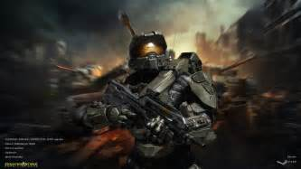 master chief halo background counter strike