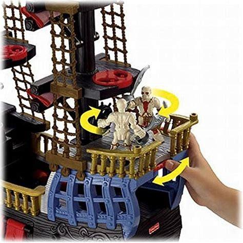 Barco Pirata Negro by Fisher Price Imaginext Negro Y Rojo Del Barco Pirata Con 2