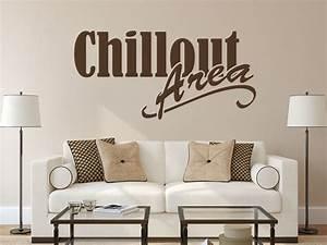 Chill Out Area : wandtattoo spruch chillout area nr 2 wandtattoo ~ Markanthonyermac.com Haus und Dekorationen