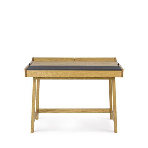 bureau cuir bureau pratique bois et cuir brompton drawer fr