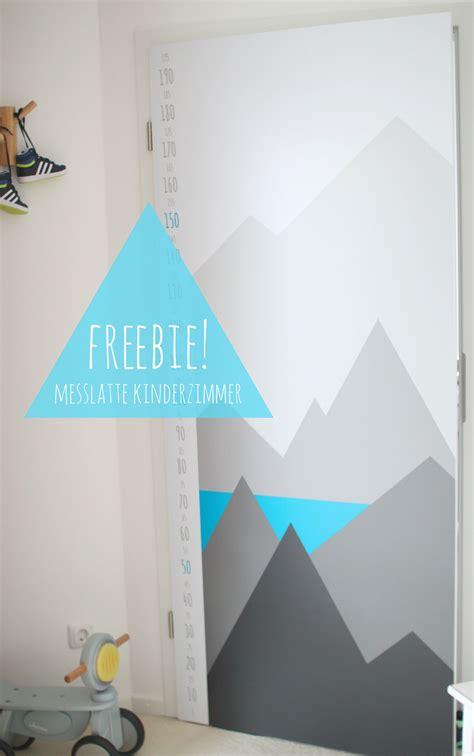 Kinderzimmer Junge Berge by Freebie Messlatte F 252 R Kinder Zimmert 252 R Mit Folie