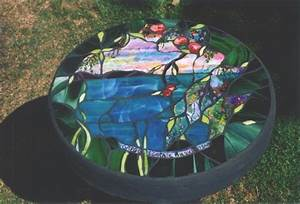 Stained Glass Tables Concrete Tables Tables Stained