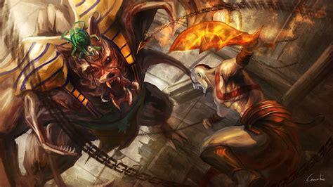 god  war monster warrior battle games fantasy
