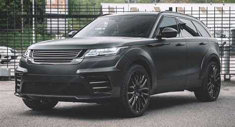Out Range Rover by Blacked Out Range Rover Velar Wants Way More Than A Drink