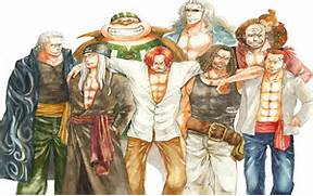 Shanks and Crew - Red ...One Piece Shanks Crew Bounty