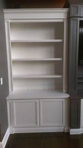 15, Photos, Bookshelves, With, Cabinet, Base