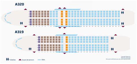 plan des sieges airbus a320 réservation de siège aigle azur